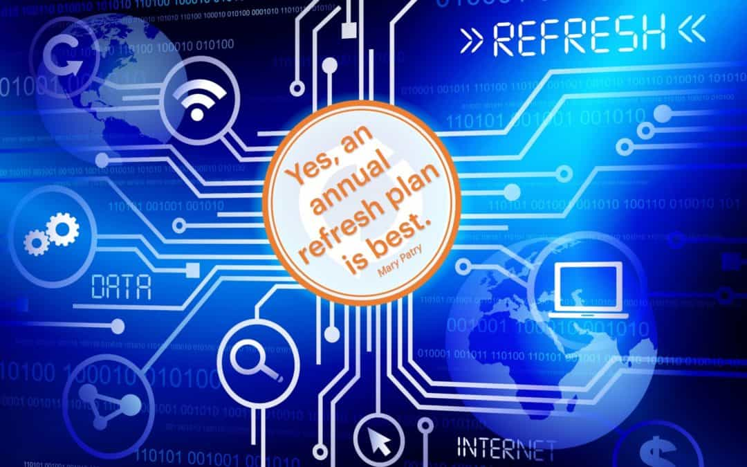 Tech Refresh – Yes, it is still a requirement